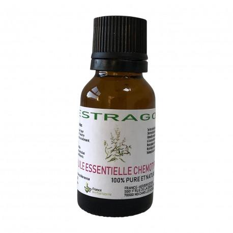HUILE ESSENTIELLE ESTRAGON Artemisia dracunculus 15 ml.