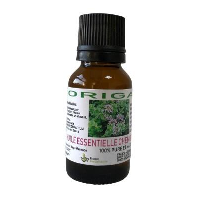 HUILE ESSENTIELLE ORIGAN Origanum vulgare 15 ml.
