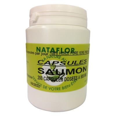 HUILE SAUMON 200 capsules dosées à 500mg