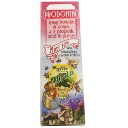 PRODONTAL Spray bouche et gorge propolis, miel et plantes 15 ml