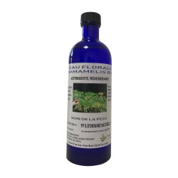 Eau florale hamamelis BIO flacon 200 ML.