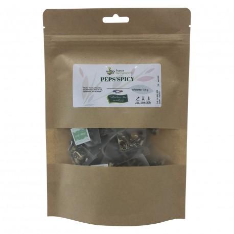 Sachet de 20 Infusettes - PEPS 'SPICY - France-Herboristerie