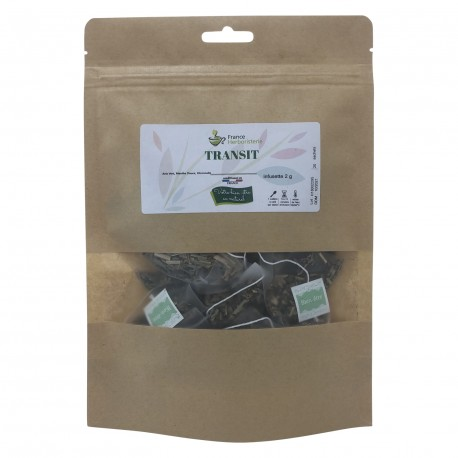 Sachet de 20 Infusettes - TRANSIT - France-Herboristerie