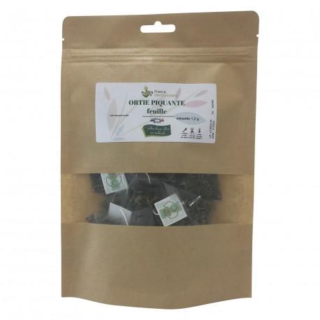 Sachet de 20 Infusettes - ORTIE PIQUANTE feuille - France-Herboristerie
