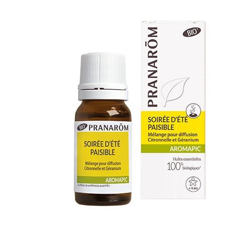 Mélange d'huiles essentielles pour diffusion soiree d'ete paisible - PRANAROM