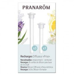 "Recharges x4 Diffuseur ""Prise"" - PRANAROM"