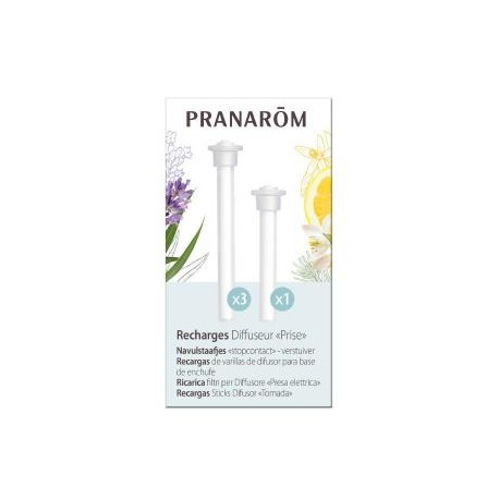 "Recharges x4 Diffuseur ""Prise"" - PRANAROM"