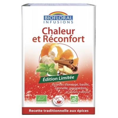 Infusion Chaleur et Réconfort - 20 sachets