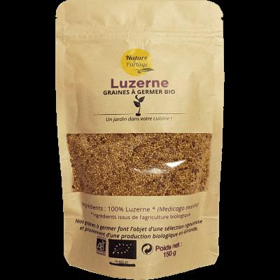 Graines à germer bio de Luzerne (alfalfa) – 150 g