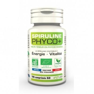 Spiruline Phyco + BiO - 180 comprimés