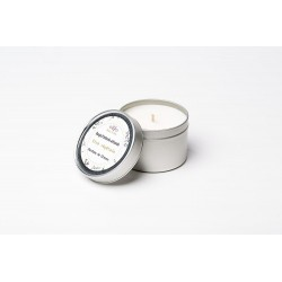 Bougie parfumée artisanale - FLEUR DE COTON - 100 mL