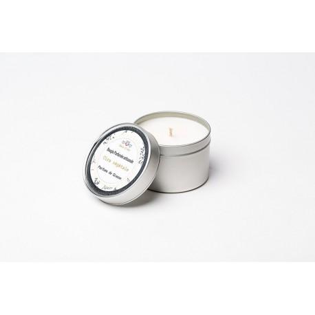 Bougie parfumée artisanale - FLEUR DE COTON