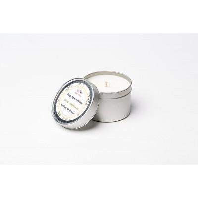 Bougie parfumée artisanale - FLEUR DE TIARE