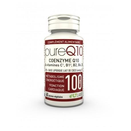 Coenzyme Q10 fort dosage 30 gélules végétales.