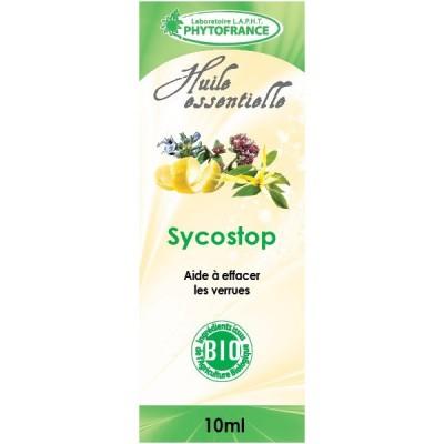 Sycostop Huiles essentielles Bio - Contre les excroissances de la peau