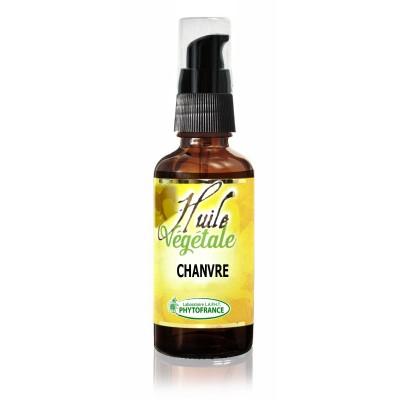 Huile végétale de Chanvre - 30 ml