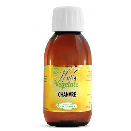 Huile végétale de Chanvre - 125 ml