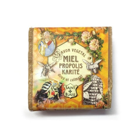 Savon végétal karité propolis miel - 100g