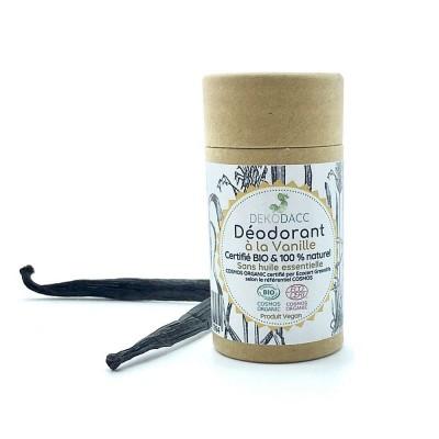 Déodorant stick Bio à la Vanille - 40 ml
