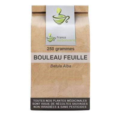 Tisane Bouleau feuille 250 GRS Betula alba.