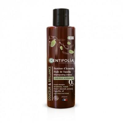 Shampooing crème cheveux normaux, 200ml - CENTIFOLIA