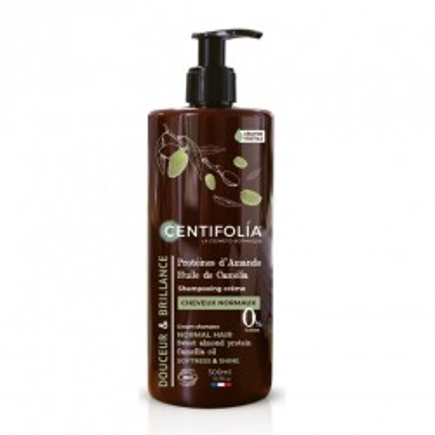 Shampooing crème cheveux normaux - CENTIFOLIA