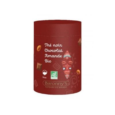 Infusettes Thé noir, Chocolat, Amande BIO - Barrony's
