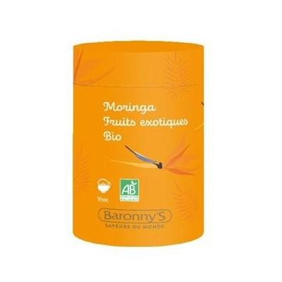Infusettes Rooibos, Orange, Figue BIO - Barrony's