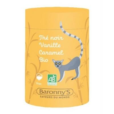 Infusettes Thé noir, Vanille et Caramel BIO - Barrony's
