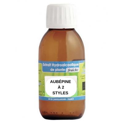 Extrait hydroalcoolique Aubépine à 2 styles BIO - 125ml - Phytofrance
