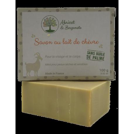 Savon au lait de chèvre - Pour le visage et pour le corps