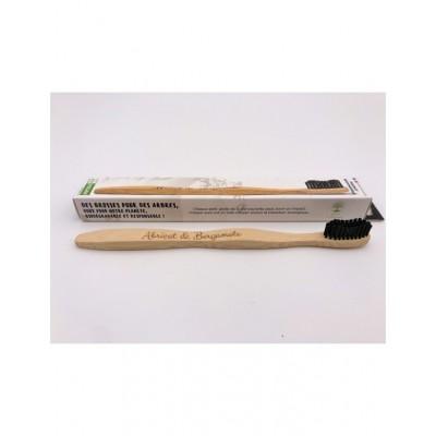 Brosse à dents en bambou biodégradable