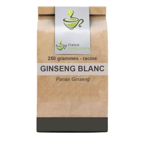 Tisane Ginseng blanc racine250 GRS Panax ginseng