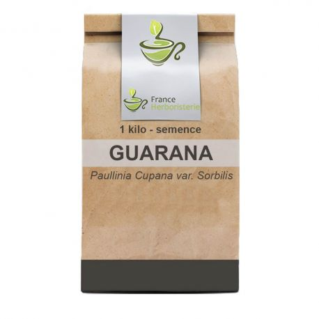 Tisane Guarana SEMENCE ENTIERE 1 kilo Paullinia cupana var.sorbilis