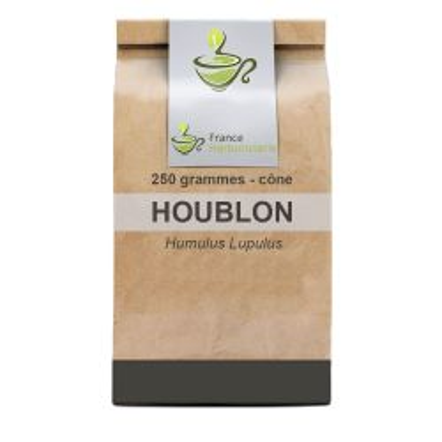 Tisane Houblon cône 250 GRS Humulus lupulus