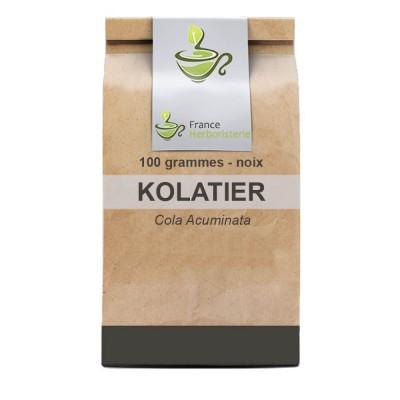 Tisane Kolatier Noix de Kola 100 GRS Cola acuminata.