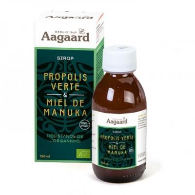 Propolis verte et miel de Manuka sirop 150ml - Aagaard