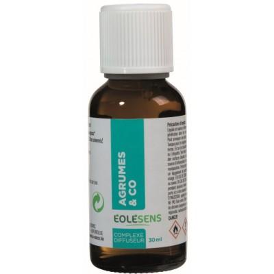 AGRUME & CO huiles essentielles en complexe à diffuser 30ml - Eolesens