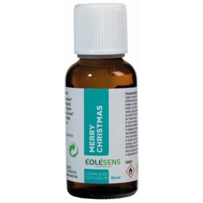 MERRY CHRISTMAS huiles essentielles en complexe à diffuser 30ml - Eolesens