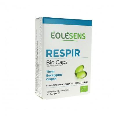 RESPIR Bio'Caps 30 capsules d'huiles essentielles - Eolesens