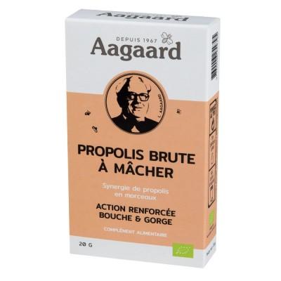 Propolis brute à mâcher 20g - Aagaard