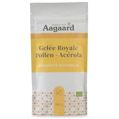 Gelée Royale + Pollen + Acérola 200g - Aagaard