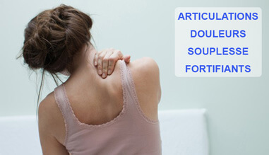 Nos fortifiants contre les articulations douloureuses